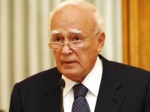 Συλλυπητήρια Παπούλια για τον θάνατο του Λ. Βογιατζή