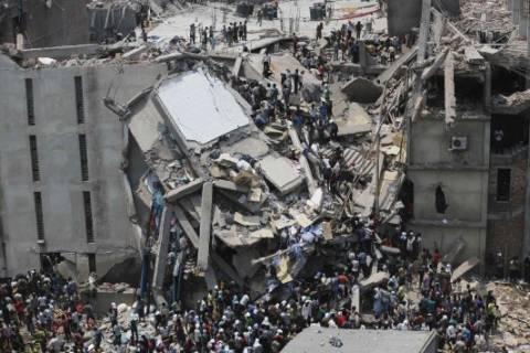 Μπανγκλαντές: Τους 540 έφτασαν οι νεκροί από την κατάρρευση κτιρίου