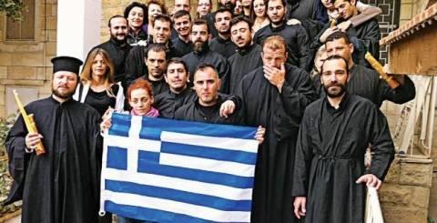 50 Έλληνες στηρίζουν τους Αγιοταφίτες πατέρες στο Άγιον Όρος