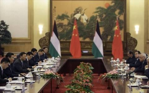 Το Πεκίνο στηρίζει τη δημιουργία ανεξάρτητου Παλαιστινιακού κράτους