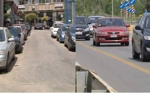 Ερημιά στο κέντρο της Λαμίας-Αυξημένη η κίνηση στην Εθνική Οδό