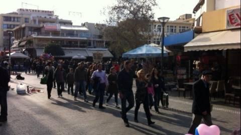 Κινήθηκε η αγορά τη Μεγάλη Εβδομάδα στο Ηράκλειο