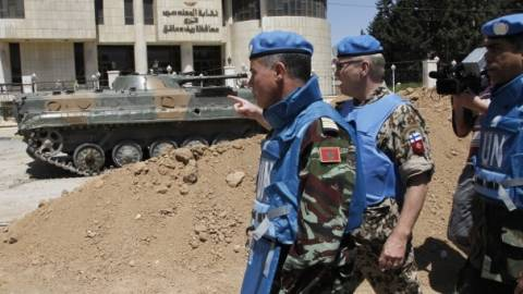 Συρία: 4 κυανόκρανοι του ΟΗΕ αιχμάλωτοι των ανταρτών
