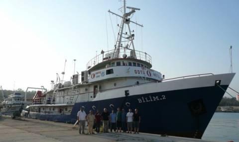 Τουρκικό πλοίο στην ελληνική υφαλοκρηπίδα