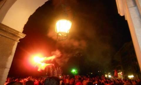 Η νύχτα... μέρα έγινε στη Κέρκυρα από τους πανηγυρισμούς (pics/vid)