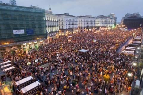 Διαδηλώσεις για τα δύο χρόνια των Αγανακτισμένων στην Ισπανία