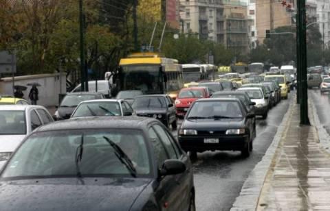 Κυκλοφοριακό χάος λόγω της βροχής