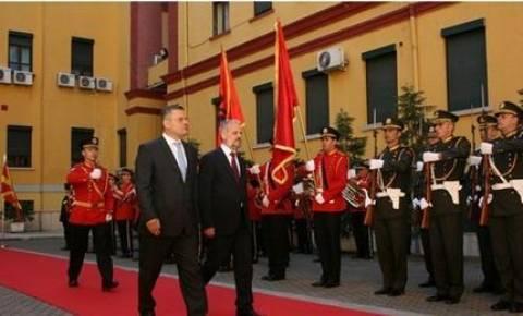 Η Αλβανία υποστηρίζει την ένταξη των Σκοπίων στο ΝΑΤΟ