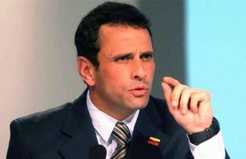 Βενεζουέλα: «Τις επόμενες ώρες» η απόφαση της προσφυγής του Καπρίλες