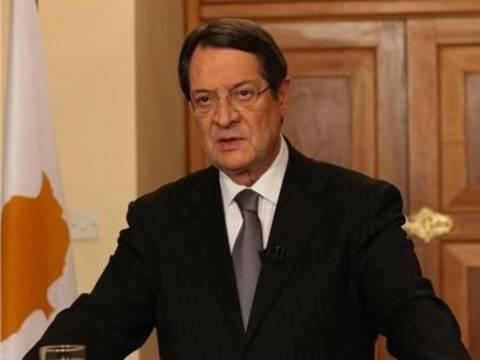 Έγγραφο του ΟΗΕ για το Κυπριακό επιδόθηκε στον πρόεδρο Αναστασιάδη