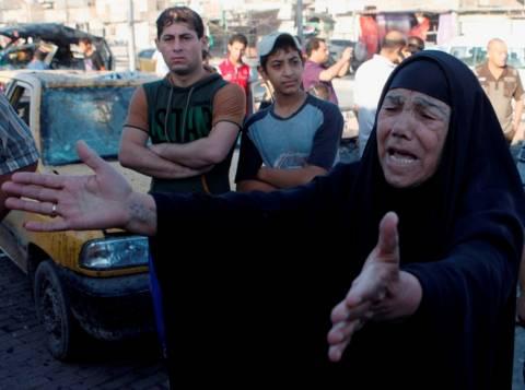 Μπαράζ επιθέσεων κοντά στη Βαγδάτη