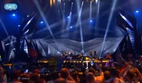 Eurovision 2013: Έκλεψε τις εντυπώσεις η Ελλάδα (βίντεο)