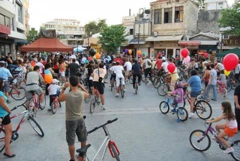 Πανελλαδική Ποδηλατοπορεία: Δυναμική συμμετοχή από τους Κρητικούς!