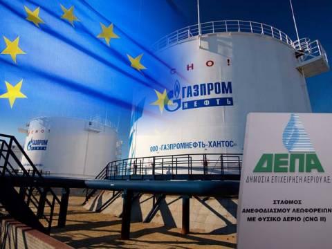 Οι Βρυξέλλες μπλοκάρουν την πώληση της ΔΕΠΑ στην Gazprom