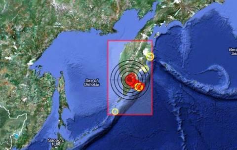 Σεισμός 5,8 Ρίχτερ στην ανατολική Ρωσία