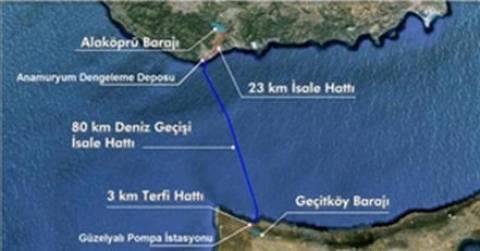 Σύνδεση αγωγού νερού από Τουρκία στη βόρεια Κύπρο