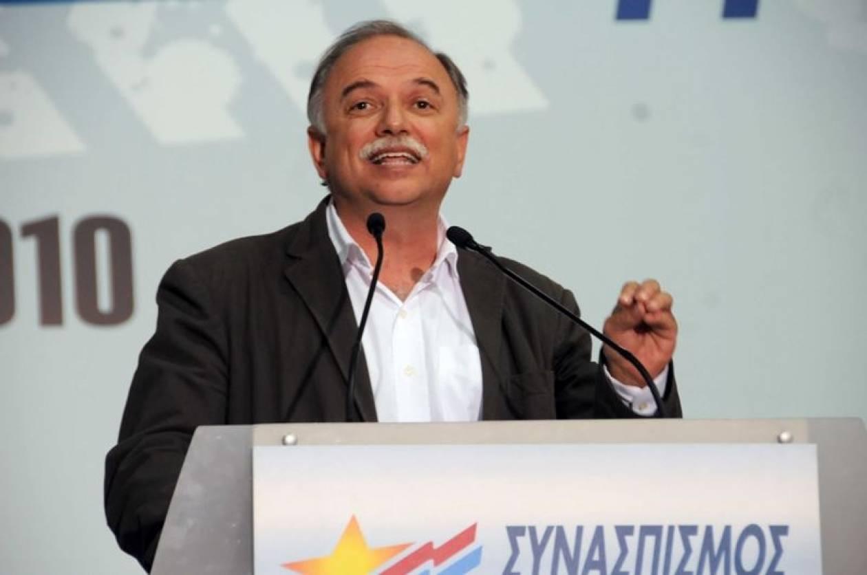 Παπαδημούλης: Όσοι προδιαγράφουν ρήξη στον ΣΥΡΙΖΑ θα διαψευστούν