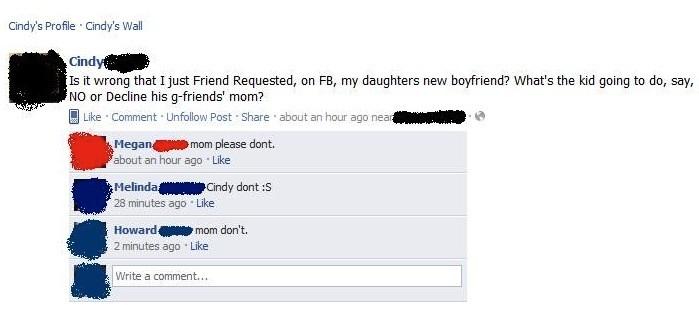 Η μητέρα της την έκανε να κατακοκκινίσει από ντροπή στο Facebook