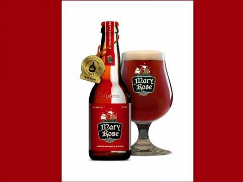 Mary Rose: H ελληνική red ale που σαρώνει τα διεθνή βραβεία μπύρας