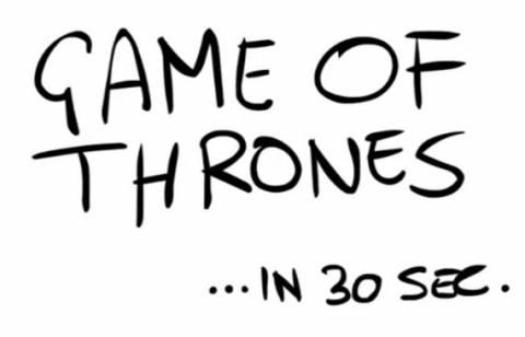 Οδηγός για άσχετους – Όλο το «Game of Thrones» σε 30 δευτερόλεπτα