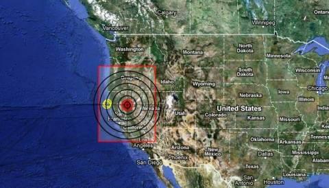 Σεισμός 5,7 Ρίχτερ αναστάτωσε τη βόρεια Καλιφόρνια