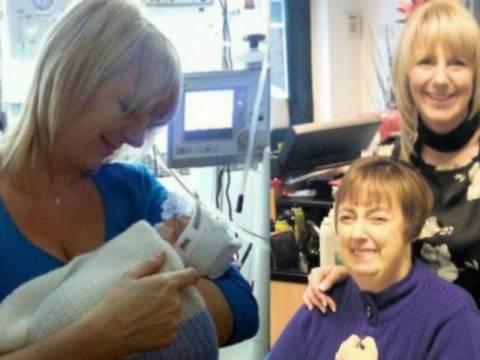 Γέννησε τον γιο της πρόωρα και 15 ώρες μετά έχασε τη μαμά της