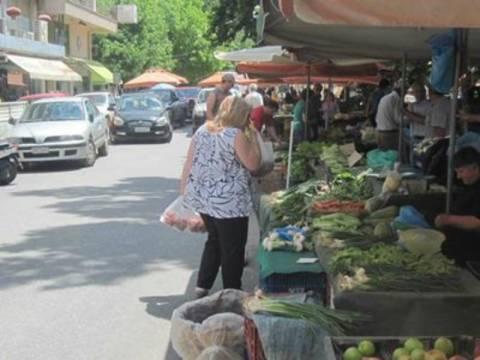 Έφοδος στη λαϊκή αγορά των Τρικάλων!