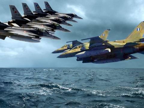 Μπαράζ παραβιάσεων από τα τουρκικά μαχητικά!