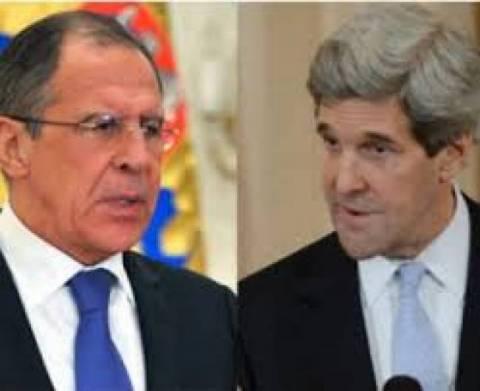 Κρίσιμες συνομιλίες Κέρι-Λαβρόφ για τη Συρία