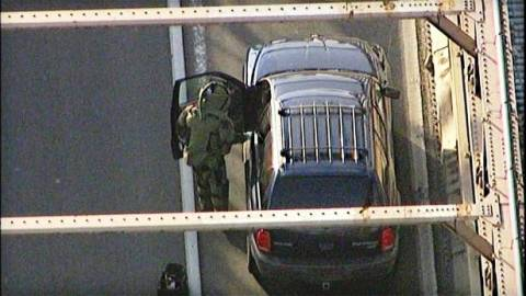 Βίντεo: Ύποπτο όχημα η αφορμή για να κλείσει η γέφυρα του Μπρούκλιν