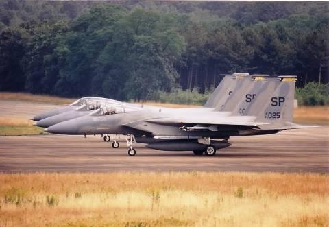 Συντριβή αμερικάνικου F-15 κοντά στην Οκινάουα