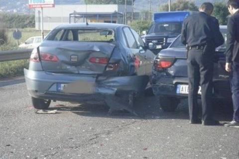 Καραμπόλα αυτοκινήτων στα Χανιά - Αύξηση των τροχαίων στο Νομό