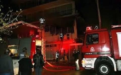 Πυρκαγιά σε αποθήκη στου Ρέντη