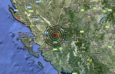 Σεισμός 3,6 Ρίχτερ στην Ήπειρο