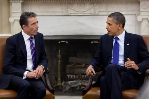 Συνάντηση Ομπάμα - Ράσμουσεν την Παρασεκυή στον Λευκό Οίκο