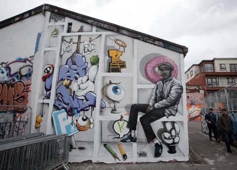 Τα γκράφιτι είχαν την τιμητική τους στο Μπρίστολ (pics)