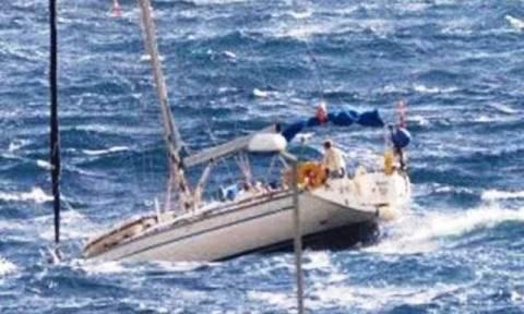 Κινδύνεψαν επιβάτες ιστιοφόρου στη Ρόδο