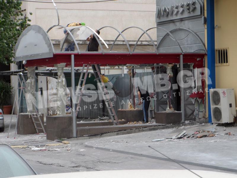 Έκρηξη σε νυχτερινό κέντρο στην Καλλιθέα (PHOTO - VIDEO)