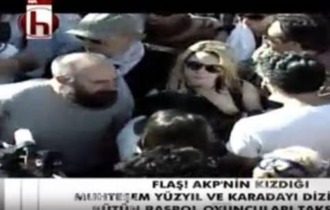 Στο πλευρό των διαδηλωτών και πάλι ο «Σουλεϊμάν» (pics)
