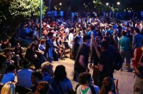 Γιόρτασαν την «ανακατάληψη» της πλατείας Ταξίμ