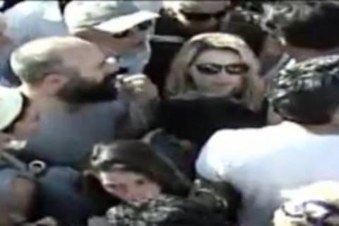 Ο «Σουλεϊμάν» στην πρώτη γραμμή των διαδηλώσεων (vid)
