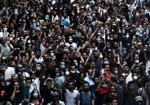Οι μεγαλύτερες αντικυβερνητικές διαδηλώσεις στη σύγχρονη Τουρκία- pics