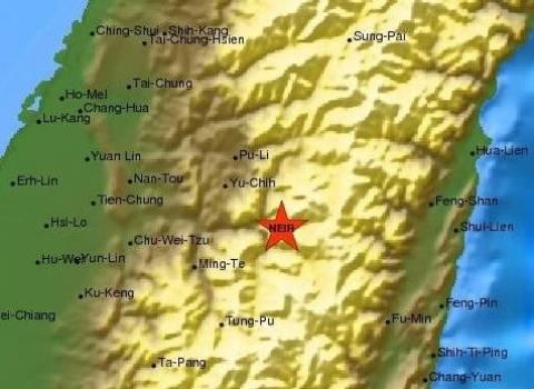Ταϊβάν: Ένας νεκρός από τον σεισμό