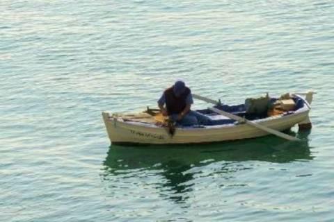 Εικόνα-ΣΟΚ: Ψάρεψε...κρανίο!