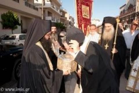 Η Τίμια Κάρα του Οσίου Παρθενίου στην Ιεράπετρα