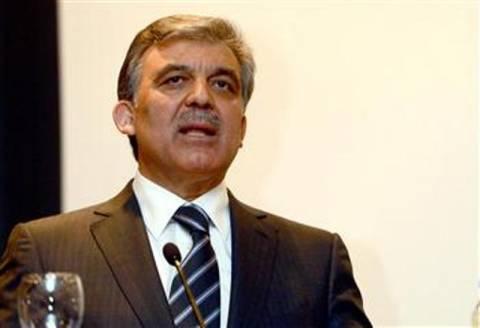 Τουρκία: Παρέμβαση Γκιουλ για τις διαδηλώσεις