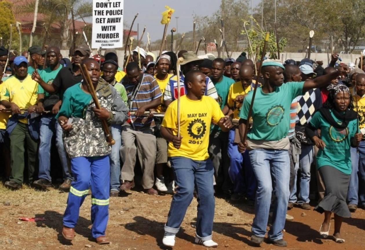 Νέα δολοφονία συνδικαλιστή στη Νότια Αφρική