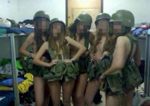 4 στρατιωτίνες βρήκαν τον.. μπελά τους λόγω γυμνών φωτογραφιών