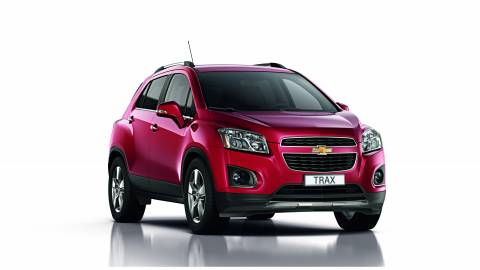 Το νέο Chevrolet Trax βαθμολογήθηκε με πέντε αστέρια στο Euro NCAP