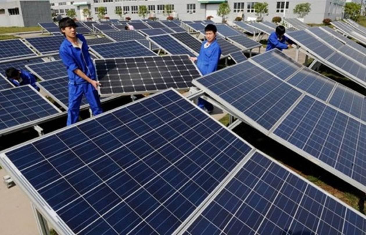 Αντιπαράθεση για τους κινεζικούς ηλιακούς συλλέκτες